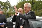 Prezident M. Zeman v Petrovicích u Karviné 2013 - 2