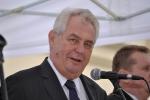Prezident M. Zeman v Petrovicích u Karviné 2013 - 1