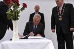 Prezident M. Zeman v Petrovicích u Karviné 2013 - 7
