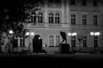 Před muzeem - Frenštát p. R.