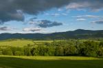 Pohled od Lichnova na Frenštát