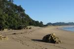 Nový Zéland - pláž