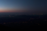 Panorama z rozhledny na Javorníku
