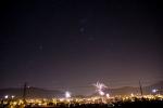 Novoroční Frenštát a jeho hory, hvězdy a všudypřítomné elektrické vedení