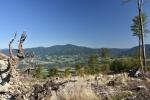 Lysá hora - pohled z Ondřejníku